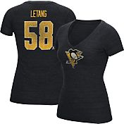 CCM Women's Pittsburgh Penguins Kris Letang #58 Vintage Home Player T-Shirt