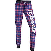 Concepts Sports Women's New York Giants Royal/Red Flannel Jogger Pants