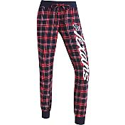 Concepts Sports Women's Houston Texans Navy/Red Flannel Jogger Pants