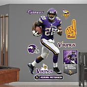 Fathead Adrian Peterson #28 Minnesota Vikings Real Big Wall Graphic