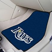 Tampa Bay Rays Printed Car Mats 2-Pack