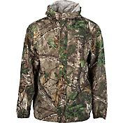 Field & Stream Men's Lightweight Packable Camo Rain Jacket