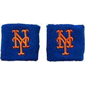 "Franklin New York Mets Royal 2.5"" Wristbands"