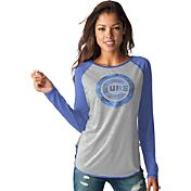 Touch by Alyssa Milano Women's Chicago Cubs Grey/RoyalLong Sleeve Shirt