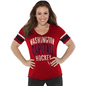 Touch by Alyssa Milano Women's Washington Capitals Motion T-Shirt