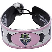 Seattle Sounders Classic Pink Soccer Bracelet