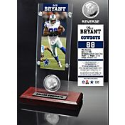 The Highland Mint Dallas Cowboys Dez Bryant Ticket and Coin Desktop Display