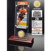 Highland Mint Philadelphia Flyers Claude Giroux Ticket and Bronze Coin Acrylic Display