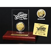 The Highland Mint Cleveland Cavaliers Gold Coin Etched Acrylic
