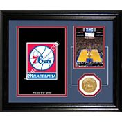 The Highland Mint Philadelphia 76ers Desktop Photo Mint