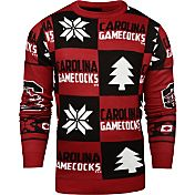 Klew Men's South Carolina Gamecocks Garnet Ugly Sweater