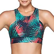 Lorna Jane Women's Electric Palm Sports Bra