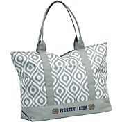 Notre Dame Fighting Irish Ikat Tote