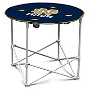 Notre Dame Fighting Irish Portable Round Table