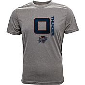 Levelwear Men's Oklahoma City Thunder Russell Westbrook Fadeaway Grey T-Shirt