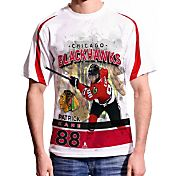Levelwear Men's Chicago Blackhawks Patrick Kane #88 Center Ice White T-Shirt