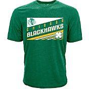 Levelwear Men's St. Patty's Day Chicago Blackhawks Green T-Shirt