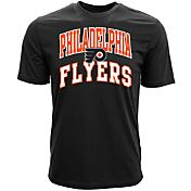 Levelwear Men's Philadelphia Flyers Performance Arch Black T-Shirt