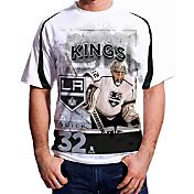 Levelwear Men's Los Angeles Kings Jonathank Quick #32 Center Ice White T-Shirt