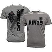 Levelwear Men's Los Angeles Kings Anze Kopitar #11 Grey Spectrum T-Shirt