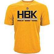 Levelwear Men's Pittsburgh Penguins 'HBK' Gold T-Shirt