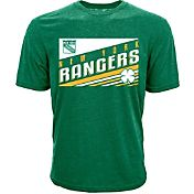Levelwear Men's St. Patty's Day New York Rangers Green T-Shirt