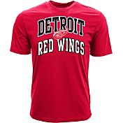 Levelwear Men's Detroit Red Wings Performance Arch Red T-Shirt