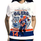 Levelwear Women's Edmonton Oilers Jordan Eberle #14 Center Ice White T-Shirt