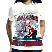 Levelwear Women's Colorado Avalanche Matt Duchene #9 Center Ice White T-Shirt