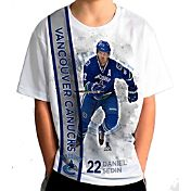 Levelwear Youth Vancouver Canucks Daniel Sedin #22 Breakaway White T-Shirt