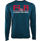 Levelwear Youth Florida Panthers Scoreboard Navy Long Sleeve T-Shirt
