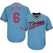 Majestic Men's Replica Minnesota Twins Tony Oliva Cool Base Light Blue Cooperstown Jersey