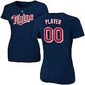 Majestic Women's Full Roster Minnesota Twins Navy T-Shirt