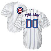 Majestic Youth Custom Cool Base Replica Chicago Cubs Home White Jersey