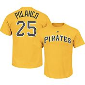 Majestic Youth Pittsburgh Pirates Gregory Polanco #25 Gold T-Shirt