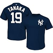 Majestic Youth New York Yankees Masahiro Tanaka #19 Navy T-Shirt