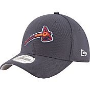 New Era Men's Atlanta Braves 39Thirty Diamond Era Navy Flex Hat