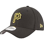 New Era Men's Pittsburgh Pirates 39Thirty Diamond Era Black Flex Hat