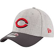 New Era Men's Cincinnati Reds 39Thirty Grey Change Up Classic Flex Hat