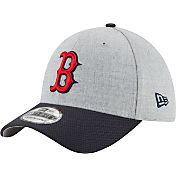 New Era Men's Boston Red Sox 39Thirty Change Up Redux Grey Flex Hat