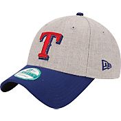 New Era Men's Texas Rangers 9Forty Grey Adjustable Hat