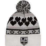 New Era Women's Los Angeles Kings Winter Cutie White Knit Hat
