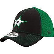 New Era Men's Dallas Stars 39Thirty Neo Black Front Flex Hat