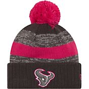 New Era Women's Houston Texans Breast Cancer Awareness 2016 Pink Pom Knit