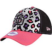 New Era Youth Girls' San Diego Padres 9Forty Cheetah Chic Adjustable Hat