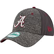 New Era Youth Alabama Crimson Tide Grey The League Shadow 9Forty Adjustable Hat