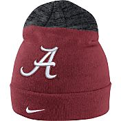 Nike Men's Alabama Crimson Tide Crimson/Grey Sideline Beanie