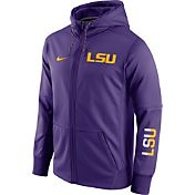 Nike Men's LSU Tigers Purple Circuit Full-Zip Hoodie