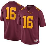 Nike Men's Minnesota Golden Gophers #16 Maroon Game Football Jersey