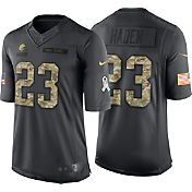 Nike Men's Home Limited Jersey Cleveland Browns Joe Haden #23 Salute to Service 2016